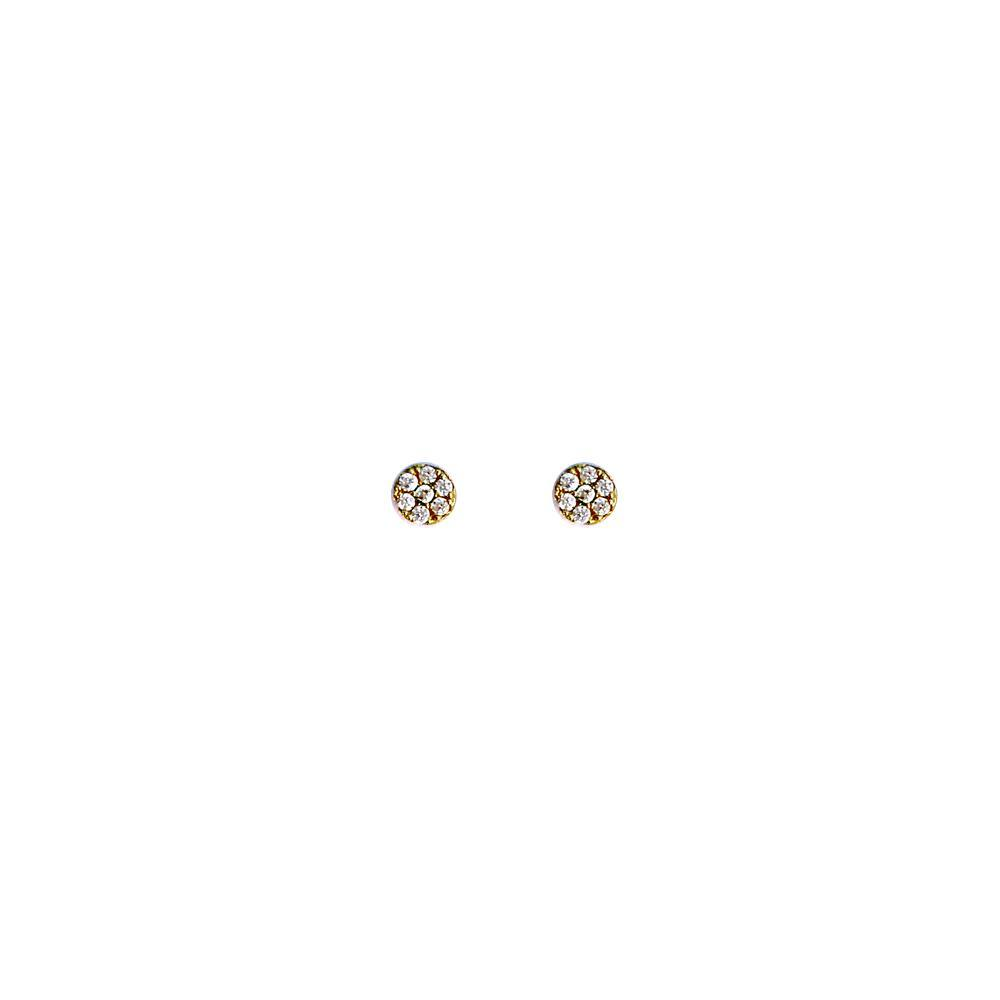 Dot Pave Stud Earrings, Erin Fader - Bohemian Mama