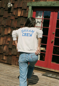 DayDreamer Dream Crew Varsity Crew Sweatshirt