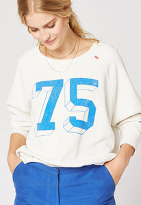 DayDreamer Dream Crew Varsity Crew Sweatshirt | Womens Tops