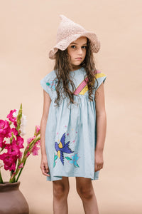 Dulcie Dress - Denim from Wander & Wonder