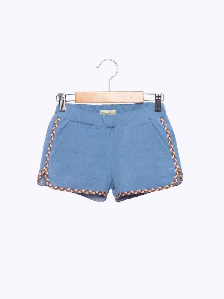 Load image into Gallery viewer, Girls Shorts in Denim from Wander & Wonder