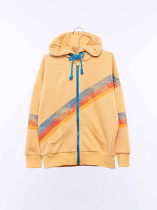 Zip Up Hoodie - Butter from Wander and Wonder