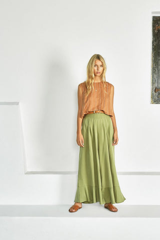 Emele Pant in Fern by Sancia