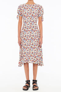 Emilia Midi Dress in Lumina Floral Print by Faithfull The Brand | Summer Dresses