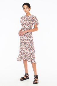 Emilia Midi Dress in Lumina Floral Print by Faithfull The Brand | Womens
