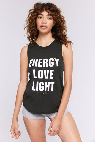 Energy Love Light Muscle Tank