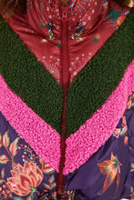 Load image into Gallery viewer, Cosmic Floral Puffer | Farm Rio | Fall 2020 - Women's Coats