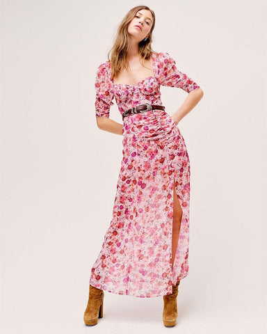 Evie Maxi Dress - Tearose