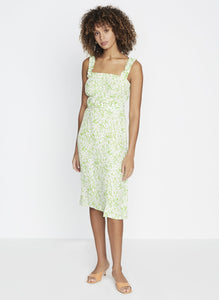 Mae Midi Dress - Freja Floral Print