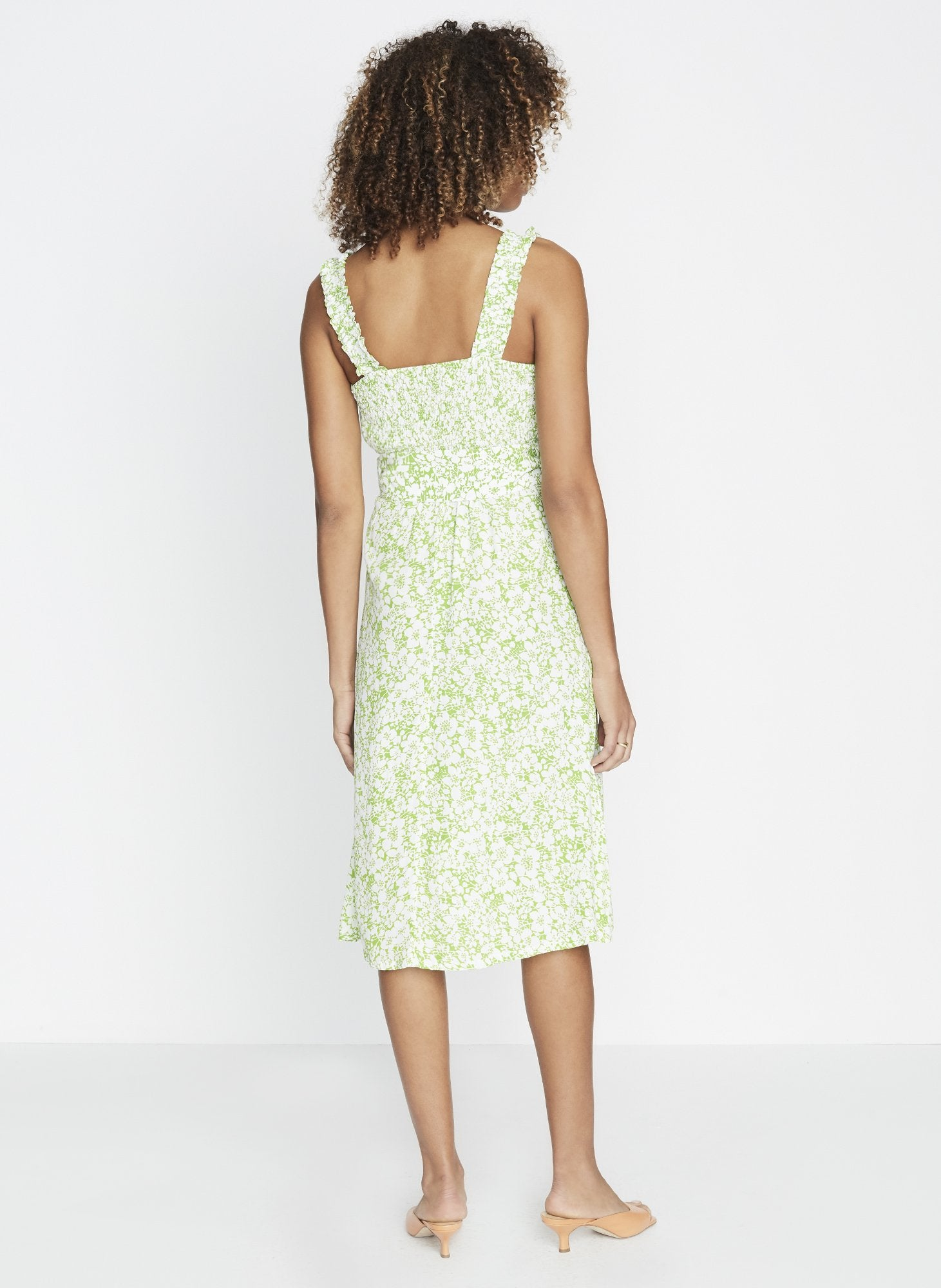 Load image into Gallery viewer, Mae Midi Dress - Freja Floral Print