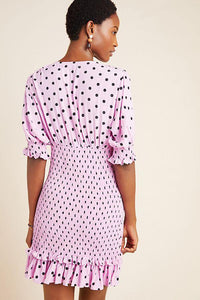 Faithfull The Brand Margherita Mini Dress Sylve Dot Print | Mini Dresses