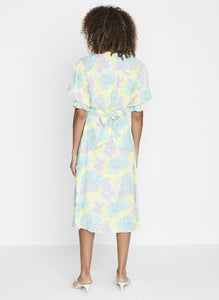 Faithfull the Brand Rafa Midi Dress Lera Floral Print | Day Dresses for Women