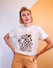 Load image into Gallery viewer, Fierce, Slouchy Tee - Creme | Daze LA - Summer 2020 Divinity