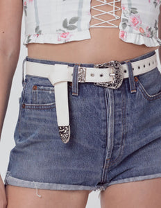 For Love & Lemons Afton Western Belt | Women's Vintage Belts