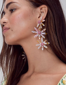 For Love & Lemons Ryder Daisy Earrings | Women's Vintage Earrings