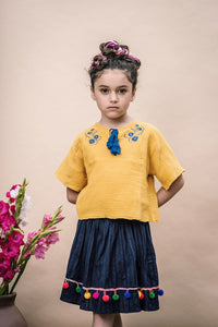 Freira Top in Daffodil from Wander and Wonder for Girls