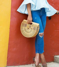 Load image into Gallery viewer, Natural Bali Bamboo Bag by Kita Dua