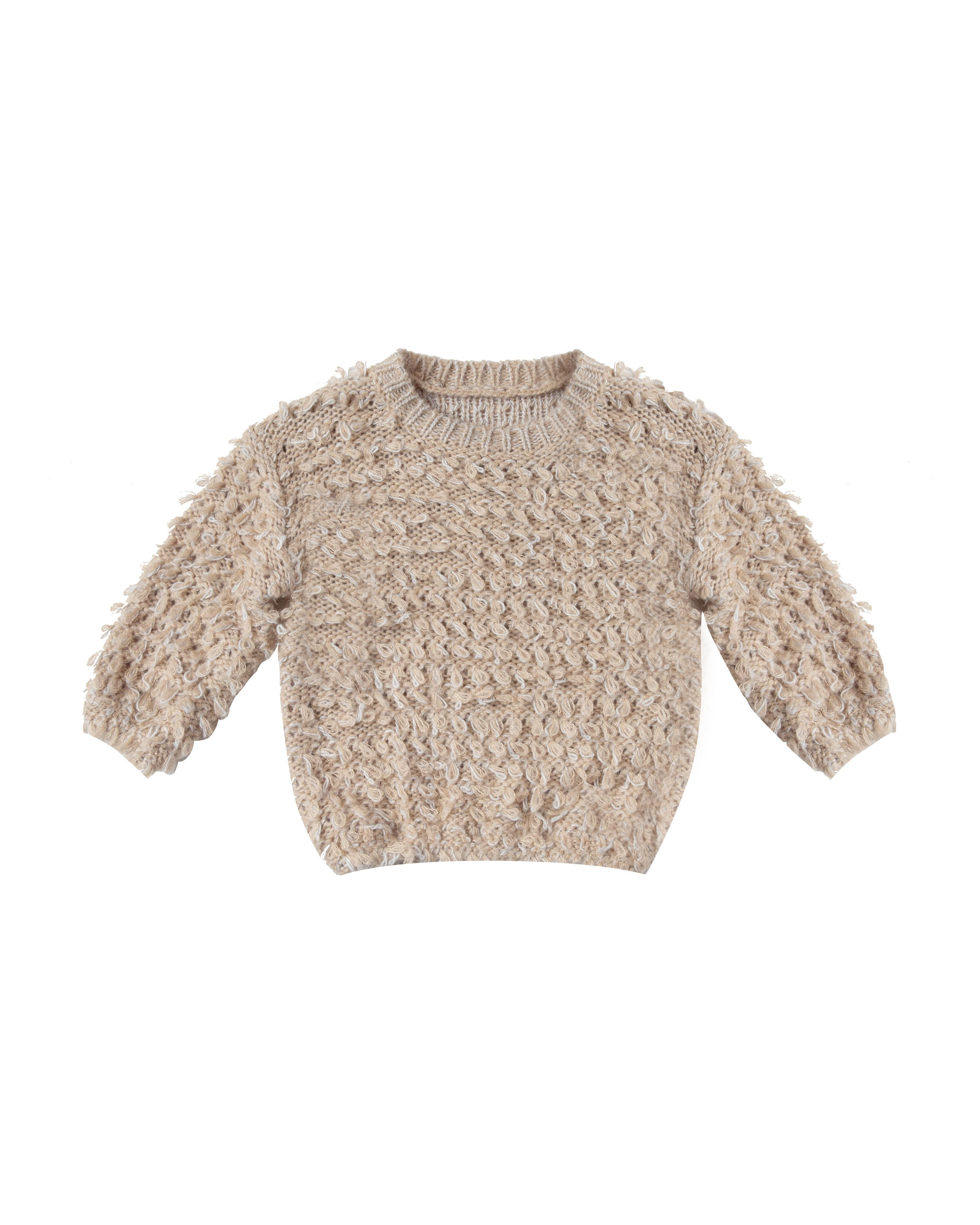 Load image into Gallery viewer, Rylee & Cru Slouchy Pullover Sweater - Oat