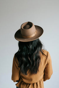Gigi Pip Monroe Brown Rancher Hat Women Lack of Color