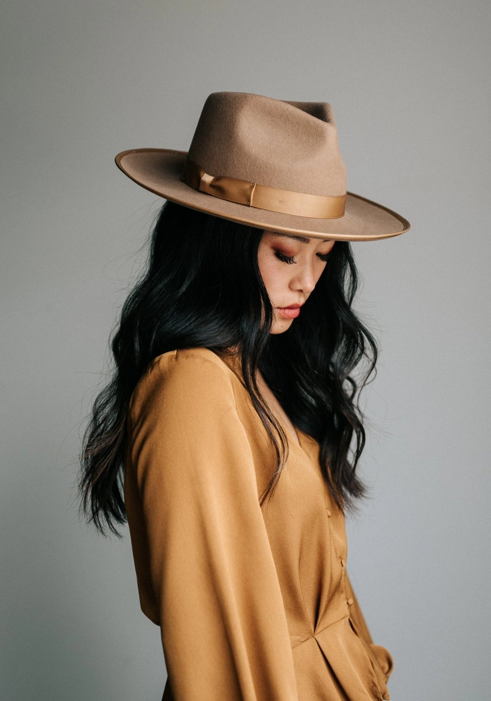 Gigi Pip Monroe Brown Rancher Hat for Women Lack of Color