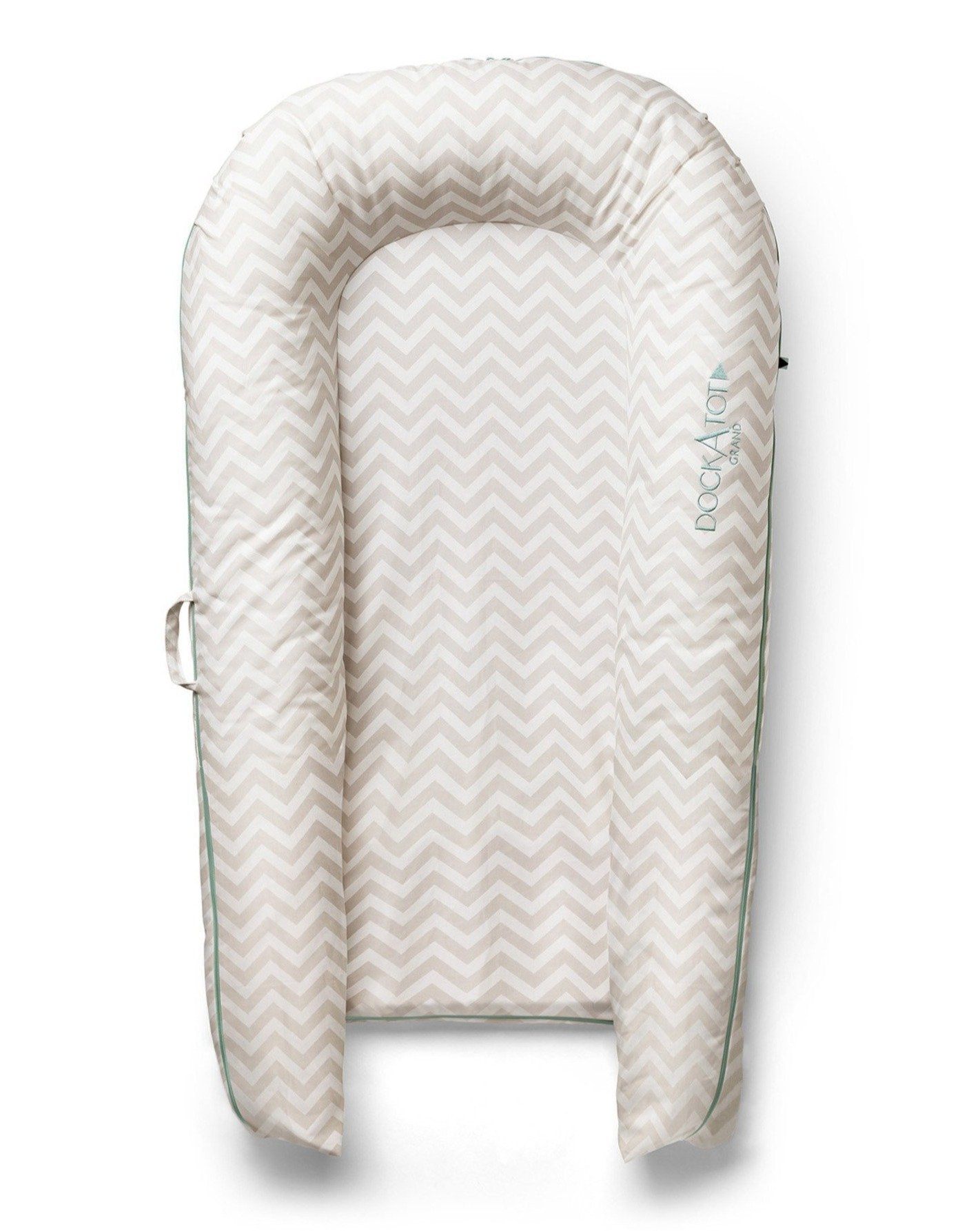 Load image into Gallery viewer, Grand Cover - Silver Lining (Chevron) | DockATot Baby Accessories Lounger