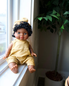 Dollie Turban + Romper - Sunset | Bohemian Mama Littles - Kids' Toys - Doll Clothing
