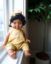 Load image into Gallery viewer, Dollie Turban + Romper - Sunset | Bohemian Mama Littles - Kids' Toys - Doll Clothing