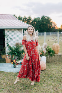 Gypsy Love Roper Romper in Royal Palm Marooned by Bohemian Mama The Label