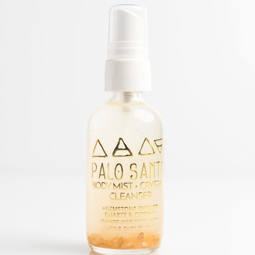 Palo Santo / Body + Crystal Cleanser by Little Shop of Oils