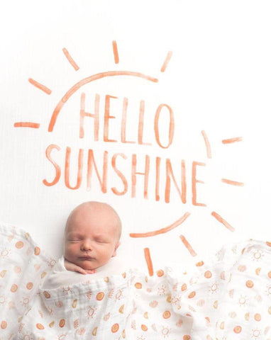 Hello Sunshine Crib Sheet