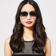 Load image into Gallery viewer, High Key - Black / Smoke Fade Lens | Quay - Women's Sunnies - Fall 2020