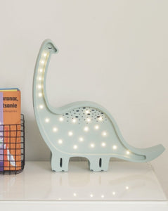 Little Lights Dinosaur Lamp | Kids Wooden Toys & Nursery Decor