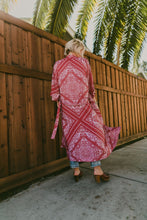 Load image into Gallery viewer, The Jane Robe - Ruby Calalily | Novella Royal Women's Kimonos