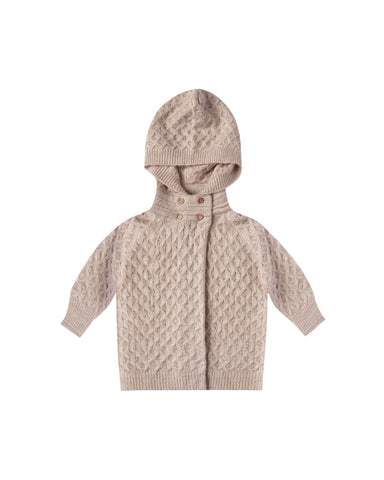 Baby Sweater Coat - Oat