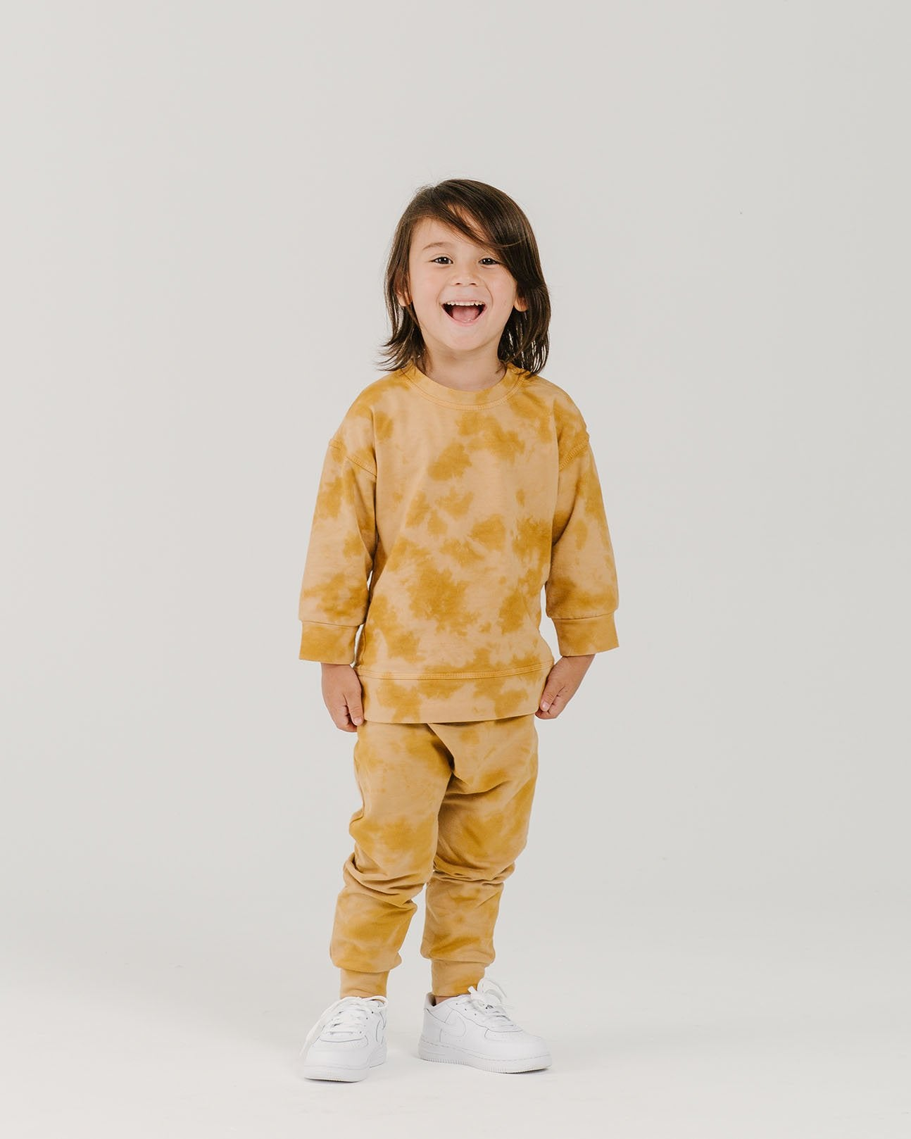 Load image into Gallery viewer, Organic Harem Pants - Sunset | Bohemian Mama Littles - Kids' Clothing
