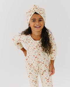 Over the Rainbow Turban | Bohemian Mama - Kids Headwear