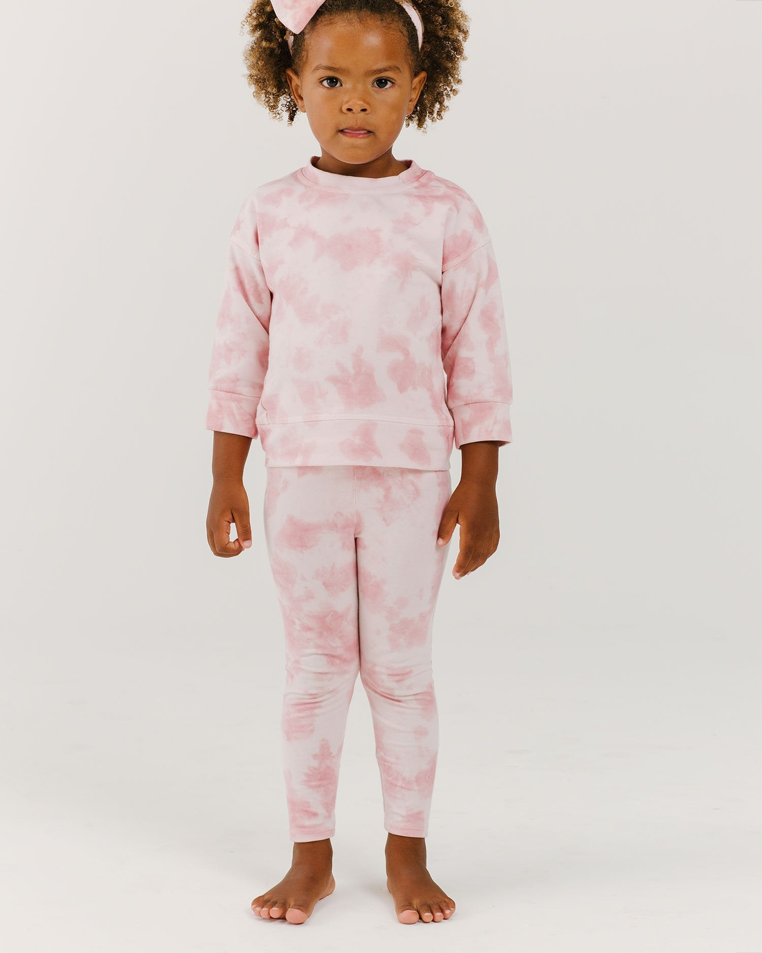 Load image into Gallery viewer, Organic Legging - Pink Sand