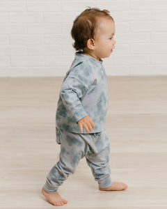 Harem Pants - Ocean Mist | Bohemian Mama Littles - Kids' Clothing