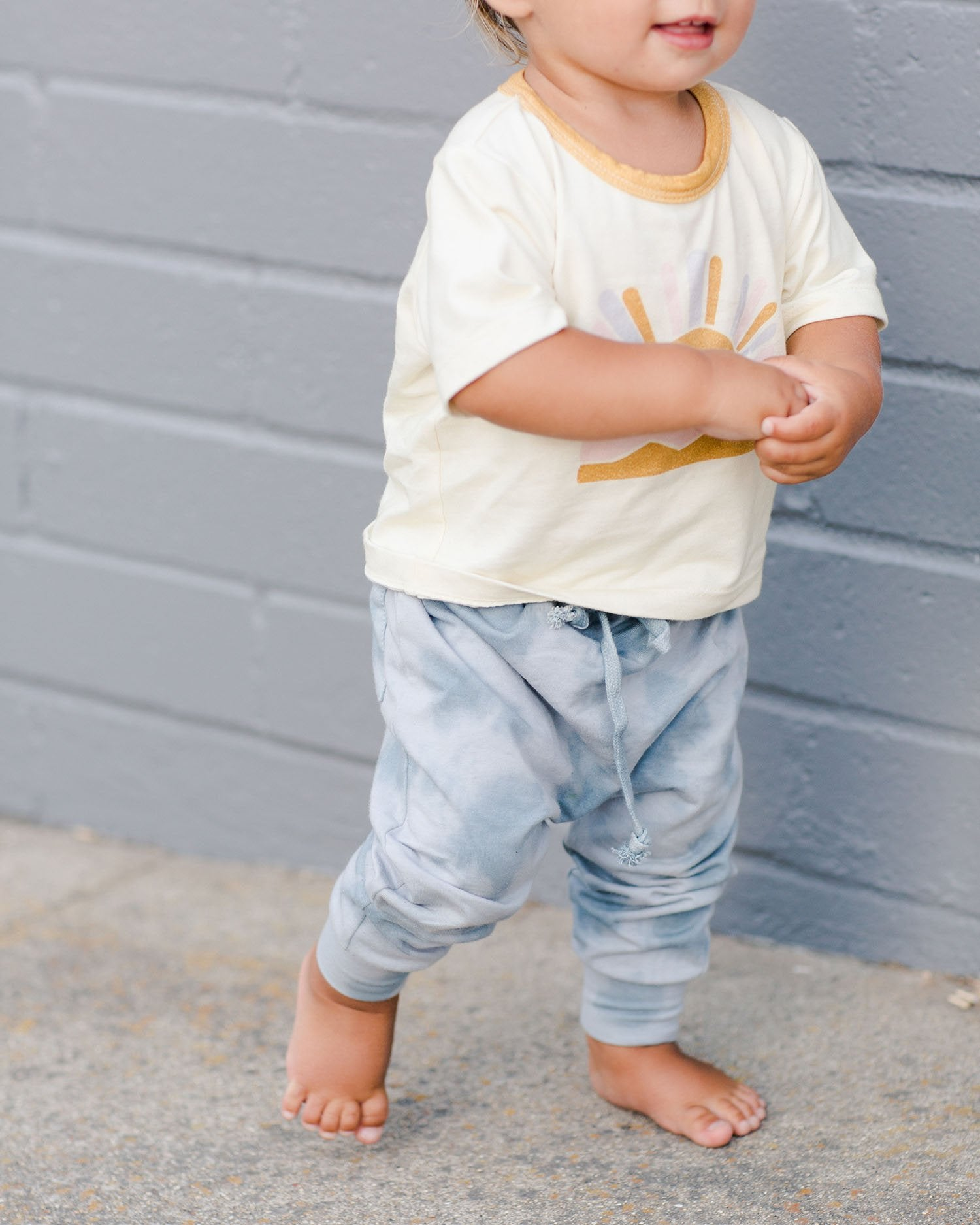 Load image into Gallery viewer, Harem Pants - Ocean Mist | Bohemian Mama Littles - Kids' Clothing