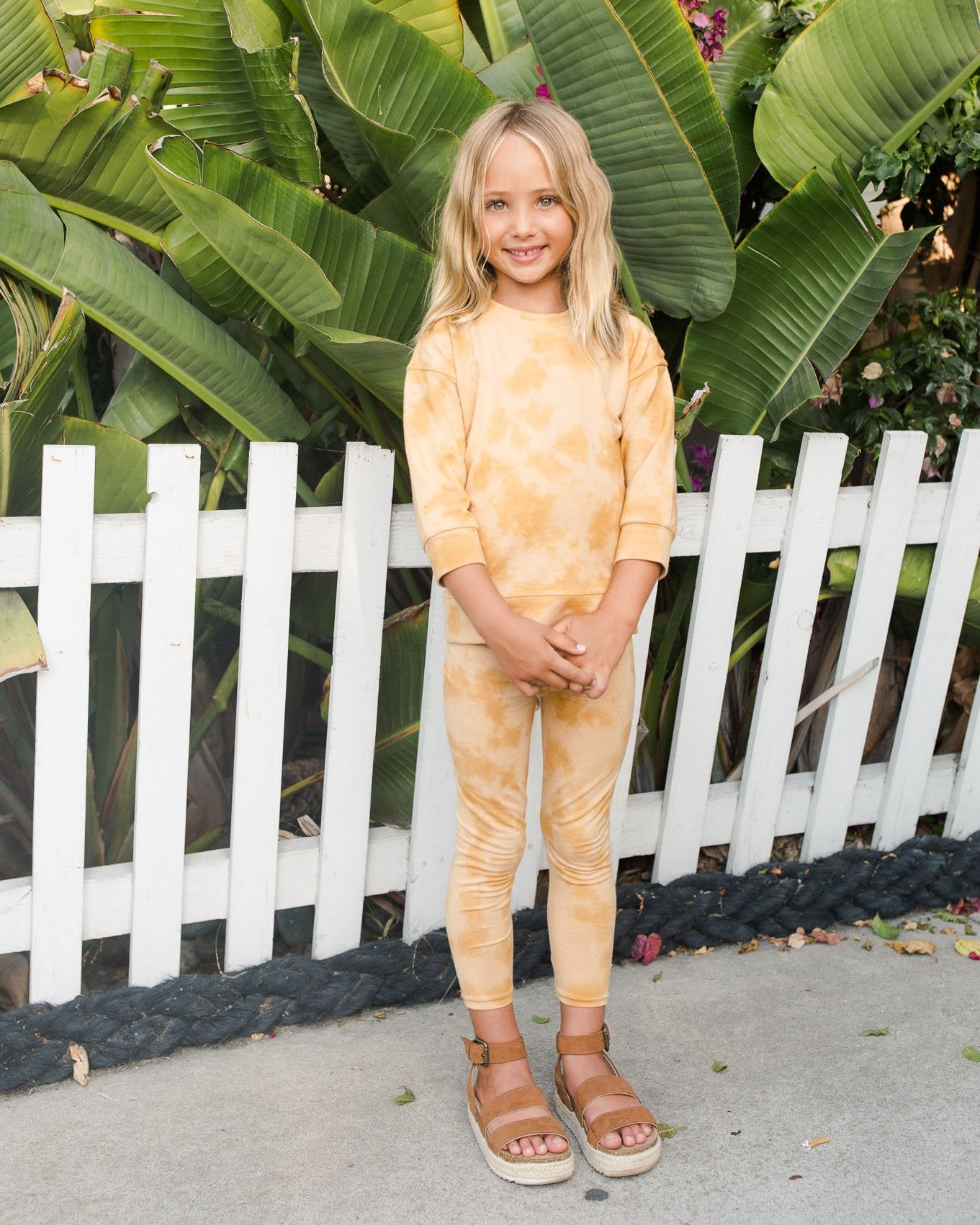 Load image into Gallery viewer, Leggings - Sunset | Bohemian Mama Littles - Kids' Clothing
