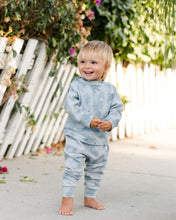 Load image into Gallery viewer, Crew Neck Sweatshirt - Ocean Mist | Bohemian Mama Littles - Kids' Clothing