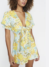 Load image into Gallery viewer, Jamais Wrap Tie Top - Annina Floral