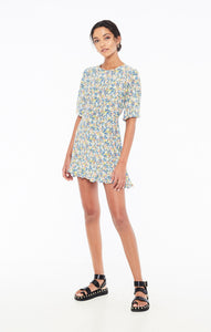Jeanette Dress in Vionett Floral Print by Faithfull The Brand | Womens