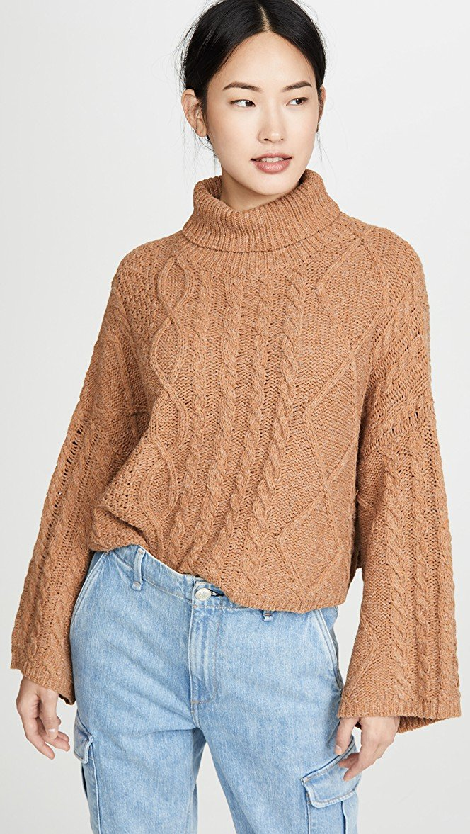 Kate Cropped Sweater