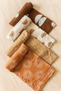 Earth Collection Swaddles (4 pack)