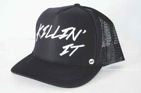 Killin' It Kids Trucker Hat - Bohemian Mama