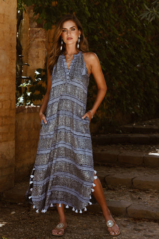 Surrey Maxi Dress - Navy