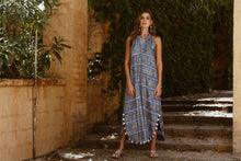 Load image into Gallery viewer, Surrey Maxi Dress in Navy from Rubyyaya - Womens Spring Clothing