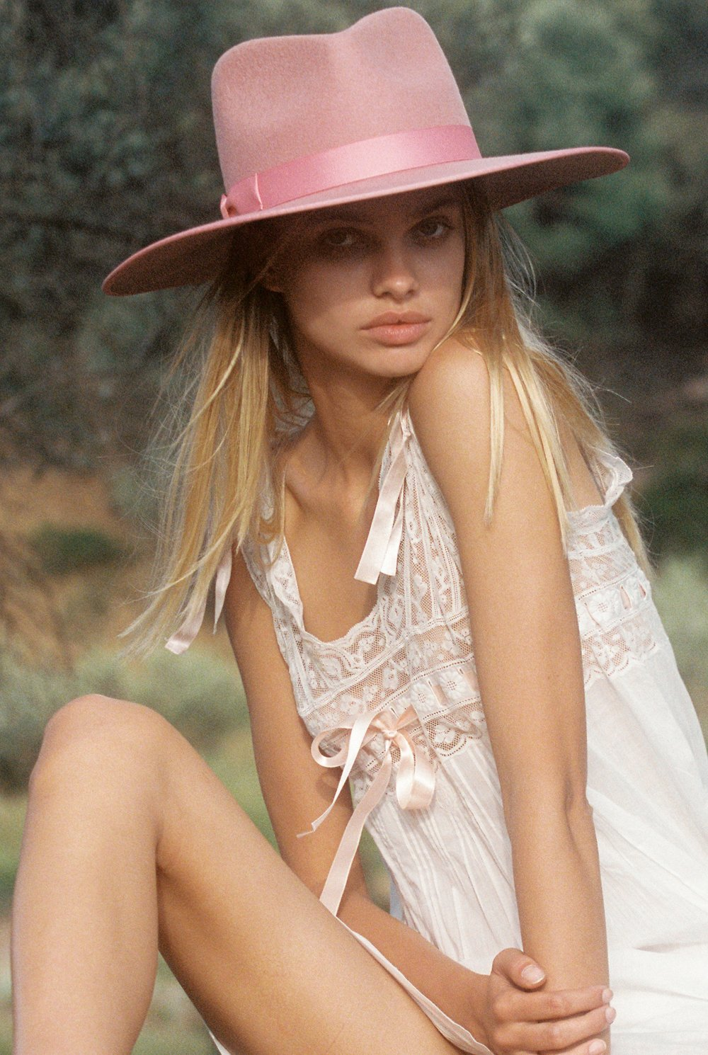Load image into Gallery viewer, Lack of Color Rose Rancher | Pink Hats for Women