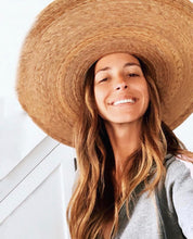 Load image into Gallery viewer, Palma Ultra Wide Boater Hat| Womens Straw Hats